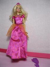 2008 THE DIAMOND CASTLE PRINCESS LIANA Barbie Doll~SINGs LIGHTS UP-pink dress