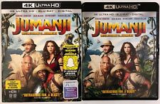JUMANJI WELCOME TO THE JUNGLE 4K ULTRA HD 1 DISC ONLY + SLIPCOVER SLEEVE BUY IT