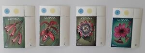 Guyana 2000 Flowers of Central America Stamps Full Set MNH SG.5992-6007 & MS6008
