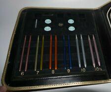 Vintage, Needle Master, Interchangeable Circular Knitting Needles Set & Case
