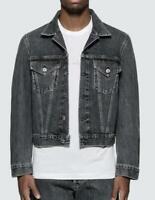 HELMUT LANG Men's DENIM TRUCKER JACKET Masc Size XL NEW $435 BLM6C