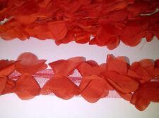 Tessuti e stoffe rossi per hobby creativi matrimonio