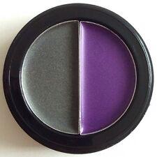 Manhattan Duo Eyeshadow 03 Purple Pankow Violet Grey Platinum Slate Steel Creme