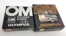 OLYMPUS FOCUSING SCREEN 1-9 X OM1/2/3/4