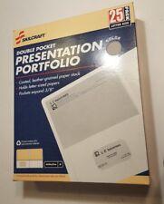 Skilcraft 25ct Double Pocket Presentation Portfolio