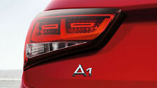 Audi A1 original LED tail lights rear lights darkened Blackline