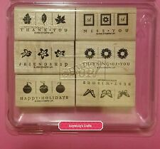 Stampin Up TAKE THREE ornaments flowers leaves butterflys holiday spring (605)