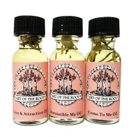 Love Oil Set Seduction Passion Attraction Fidelity Hoodoo Wiccan Pagan Conjure