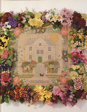 The Summer Sampler Elizabeth Bradley Tapestry Needlepoint Chart in Colour