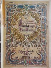 raro catalogo originale sugli ordini cavallereschi 1925 E. Guadagnini