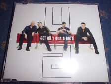 U2 Get On Your Boots Rock Maxi CD 3 Tracks inkl. Video NEU+foliert!!!