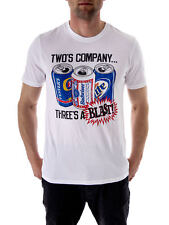 Local Celebrity T-Shirt White Who ´S Company Print short Sleeve