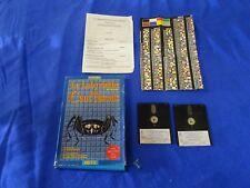 Jeu role AMSTRAD disquette CPC 6128 le labyrinthe aux cent calculs Retz