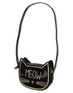 NWT Gymboree City Kitty Meow Purse Cat Kitty Toy Bag Girl