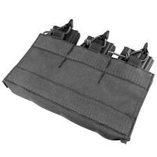 Condor VA6-002 BLACK Rifle Magazine Insert MOPC Plate Carrier Triple Mag Pouch