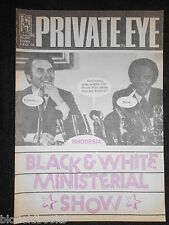 PRIVATE EYE - Vintage Satirical Political Humour Magazine - 3rd February 1978
