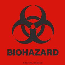 "4"" Biohazard Decal Dot Transportation Hazard Sticker Warning Label Osha Medical"
