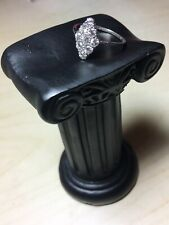 Art Deco. Platinum Diamond Ring. Size R. U.S. Size 9