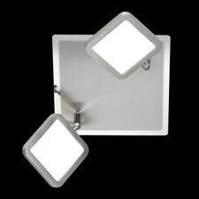 Lampada LED 2 oltre Interruttore 3 Livelli Dimmerabile Cromo Coperta Faretto da