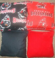 Set Of 8 Tampa Bay Buccaneers Cornhole Bags - Quality