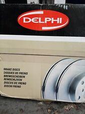Front Delphi Brake Discs 320mm ø Vented Pair - Replacement Axle Set BG4176