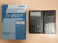 Scientific Calculator CASIO fx-4500P, wissenschaftlicher Taschenrechner #732