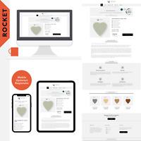 """eBay Template Auktionsvorlage """"ROCKET""""  Modern, Clear & Responsive Design. 2020!"""