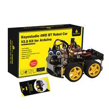 Keyestudio 4wd Programming Smart Car Robot Starter Kit V20 For Arduino For Uno