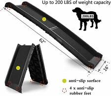 62'' Bi-fold Portable Dog Pet Ramp for Large Pet Folding Car Boot Ladder Step