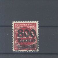 Dt. Reich Mi.Nr. 303 A, 800 Tsd. Freimarke 1923 gestempelt, geprüft Infla (32484