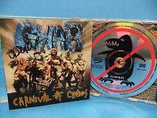 GWAR SIGNED By 5 Carnival Of Chaos 1997 CD Dave Brockie Oderus Urungus METAL