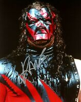 WWE KANE HAND SIGNED AUTOGRAPHED 8X10 PHOTO WITH PICTURE PROOF AND COA 28