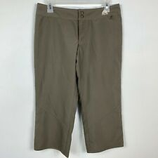 Nike ACG Womens Capris Size 6 Polyester Taupe