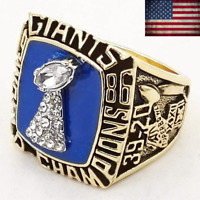 1986 New York Giants #SIMMS Championship Ring Super Bowl XXI Champions Size 8-14