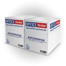 5000 Blatt OFFICE-Partner Kopierpapier DIN A4 Papier 80g / m² weiß