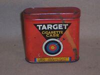 Vintage Target cigarette tin w Match Strike bottom Louisville KY case pocket box