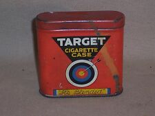 Vintage Target cigarette tin w Match Strike bottom Louisville KY case pocket box