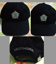 HARLEY DAVIDSON SHERIFF LOGO Medallion Adjustable Hat Cap New