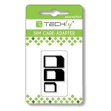 Adattatore scheda SIM (3 in 1) nano-SIM, Micro-SIM e SIM  I-SIM-3