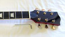 NECK Blood Ruby Trans Venetian Tuners Gold FREE USA Ship LPse DragonMountain NEW
