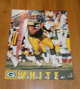 1996 Reggie White Green Bay Packers 16x20 poster photo Super Bowl XXXI season