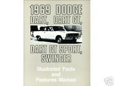 1969 69 DODGE DART-GT SPORT-SWINGER  ILLUSTRATED FACTS
