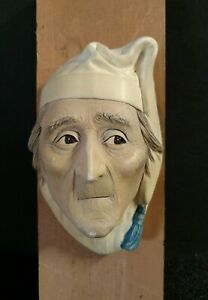 Bossons Chalkware Head 1981 Scrooge England