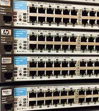 LOT of 20x J9022A HP ProCurve 2810-48G Switch 44x 10/100/1000 +4x Gigabit ports
