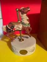 WILLITTS AMERICANA COLLECTION CAROUSEL HORSE MUSIC BOX PART  DOESN'T WORK