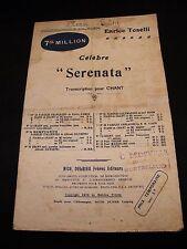 Partition Serenata Enrico Toselli Music Sheet