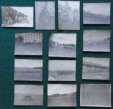 13 Russian Civil War Antique Photos - White Army & British in Ekaterinburg 1919