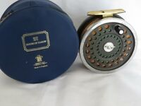 HARDY MARQUIS SALMON NO 2 REEL  LINED AND IN A HARDY CASE