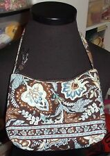 Super rare Vera Bradley girls java blue MINI BETSY shoulder bag purse