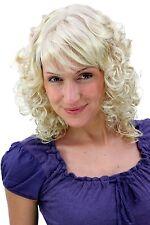 Perruque MÄRCHENHAFT ROMANTIQUE blond bouclé Affiler demi long 45 cm MC008-202